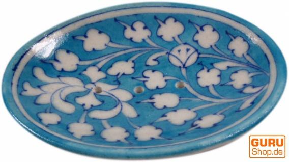 Handbemalte Keramikseifenschale Nr. 3