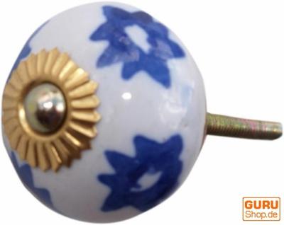 Keramik Möbelknopf, Möbelknauf Möbelgriff, Schranktürknöpfe, Möbelknöpfe, Schubladengriff - Modell 88