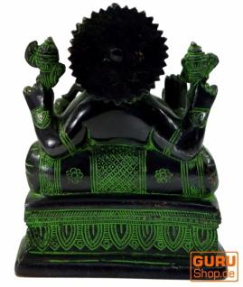 Messingfigur Ganesha Statue - Vorschau 3