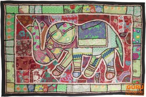 Indischer Wandteppich Patchwork Wandbehang, Einzelstück 150*100 cm - Muster 32