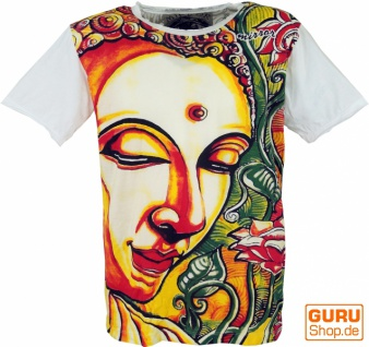 Mirror T-Shirt - Buddha / weiß