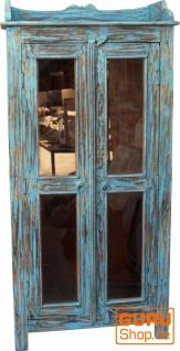Glasschrank, Glasvitrine, Küchenschrank - Modell 4