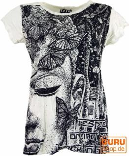 Sure T-Shirt Buddha - weiß