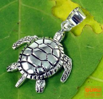 Silberanhänger bewegliche Schildkröte