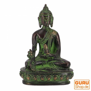 Buddha Statue aus Messing Medizin Buddha 11 cm - Modell 16