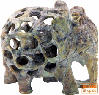 Speckstein Elefant