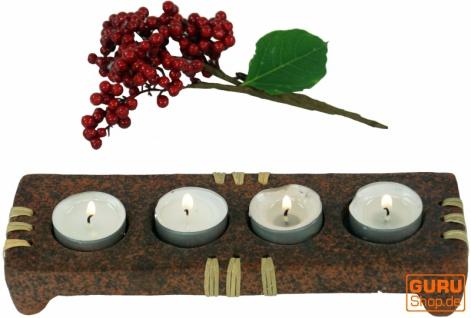 Kerzenhalter, Teelichthalter Keramik Nr.4