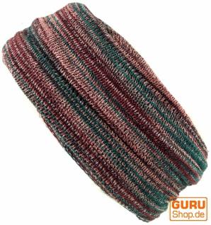 Magic Hairband, Dread Wrap, Schlauchschal, Stirnband, Mütze - Loopschal rosenholz