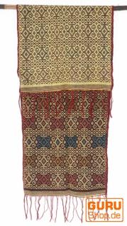Traditionelles handgewebtes Ikat Tuch, Tischläufer, Tischdecke aus Sumba, 150 x 47cm - Motiv 4