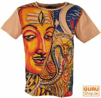 Mirror T-Shirt - Shiva / orange