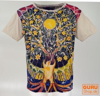 Mirror T-Shirt - Tree of life/ beige