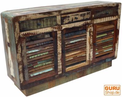 Massive Vintage Kommode, Highboard, Sideboard, Flurschrank - Modell 5