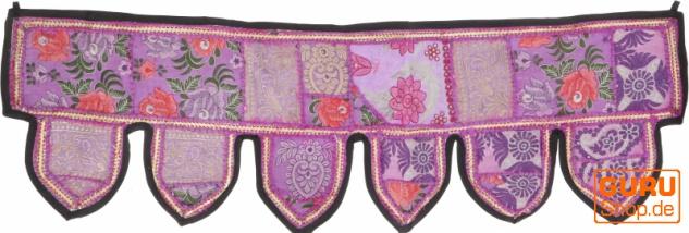 Orientalischer Wandbehang, indischer Toran, Wimpel Wandteppich, Wanddekoration, Tür Deko Einzelstück 150*45 cm - Design 17