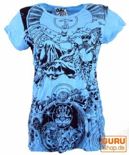 Sure T-Shirt Meditation Thai Buddha - hellblau