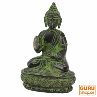Buddha Statue aus Messing Amoghasiddhi Buddha 10 cm - Modell 10