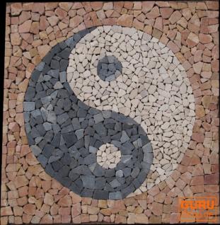 Ying-Yang Mosaik Ensemble (90*90 cm)