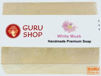 Guru-handmade Seife - White Musk