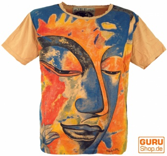 Mirror T-Shirt - Buddha / orange