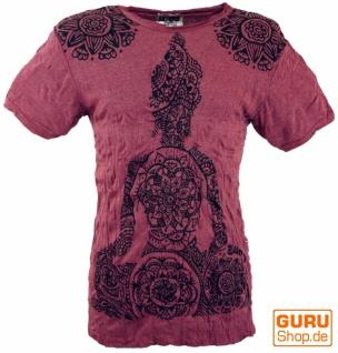 Sure T-Shirt Mandala Buddha - bordeaux