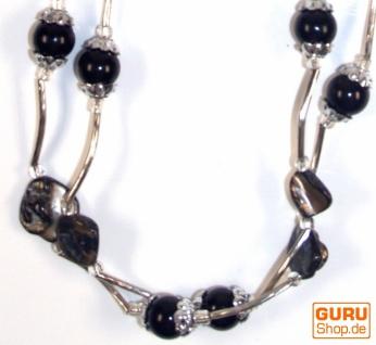 Modeschmuck, Boho Perlenkette - Model 12
