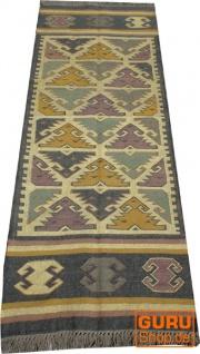 Orientalischer grob gewebter Kelim Teppiche 250*80 cm - Muster 2