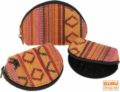 Portemonnaie Set `Ethno` Geldbeutel, Mini Etui - orange