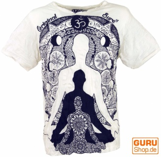 Sure T-Shirt Meditation Buddha - weiß
