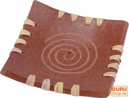 Keramik Räucherstäbchenhalter - Spirale