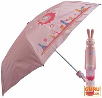 Regenschirm aus der Flasche `Bunny`in 5 Varianten