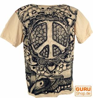 Mirror T-Shirt - Peace / beige - Vorschau 2