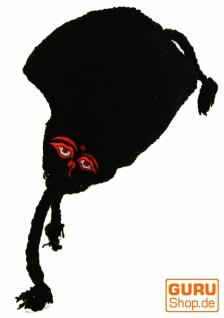 Wollmütze mit Ohrenklappen - 22 22 22 60e110