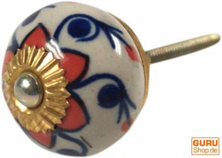 Keramik Möbelknopf, Möbelknauf Möbelgriff, Schranktürknöpfe, Möbelknöpfe, Schubladengriff - Modell 57