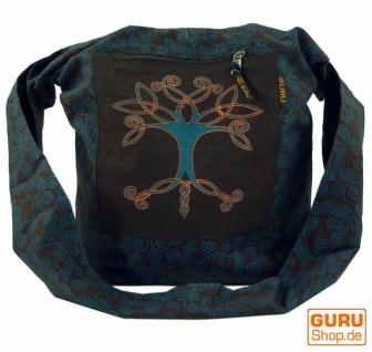 Sadhu Bag, Shopper, Schulterbeutel - braun