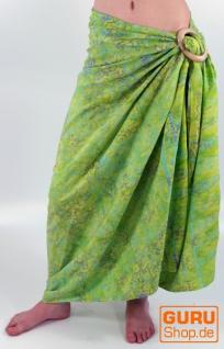 Bali Batik Sarong, Wandbehang, Wickelrock, Sarongkleid, Strand Tuch - Design 25