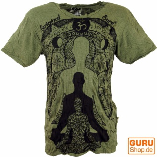 Sure T-Shirt Meditation Buddha - olive