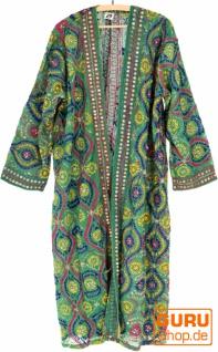 Kimonokleid, Boho Kimono, Kimonomantel - grün
