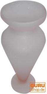 Kleine Glasvase `Frost` in 3 Farben - Vorschau 4