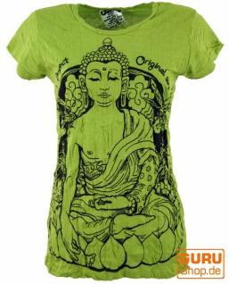 Sure T-Shirt Meditation Buddha - lemon