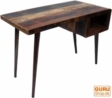 Vintage Schreibtisch, Couchtisch aus Recyclingholz - Vorschau 3