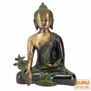Buddha Statue aus Messing Medizin Buddha 18 cm - Modell 5