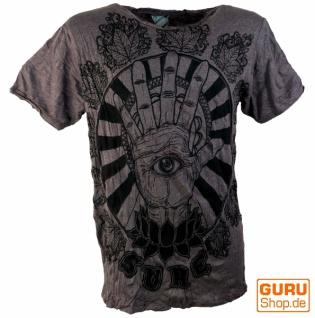 Sure T-Shirt Magic Eye - coffee