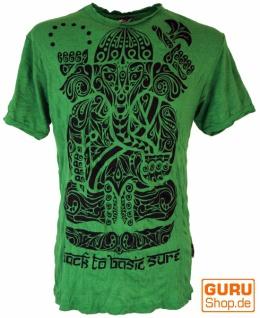 Sure T-Shirt Tribal Ganesha - grün