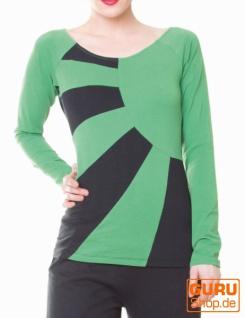 Pullover aus Bio-Baumwolle / Chapati Design - green