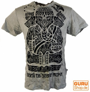 Sure T-Shirt Tribal Ganesha - grau