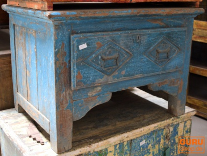 Schreibtisch, Vintage, Indien