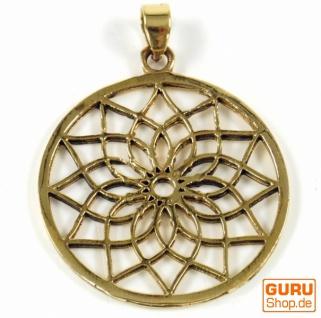 Indisches`Flower of life` Amulett, Talisman Medaillon - Model 3 - Vorschau 3