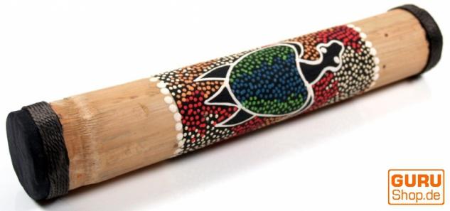 kleiner Regenmacher aus Bambus