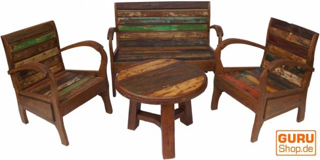 Tolles Möbelset, Sitzgruppe aus Recycleholz Nr.4