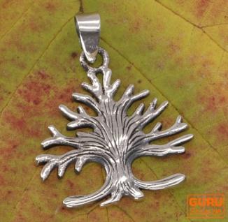 Silberanhänger Baum des Lebens, Tree of Life Talisman - Modell 11