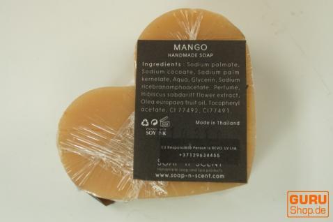 Seifenset Heart on the Rock, 75 g Seife auf Bimsstein, Fair Trade - Mango - Vorschau 3